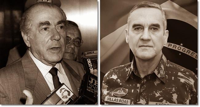 diria Leonel Brizola ao general Villas Bôas