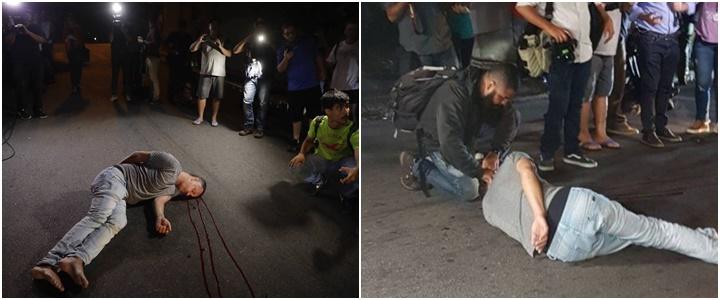 opositor provocador debochar da prisão Lula agredido