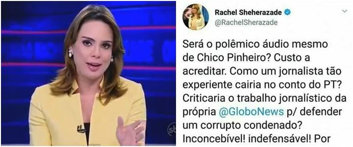 Rachel Sheherazade racismo petismo