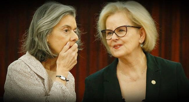 Rosa Weber e Cármen Lúcia jurisprudência de Romero Jucá