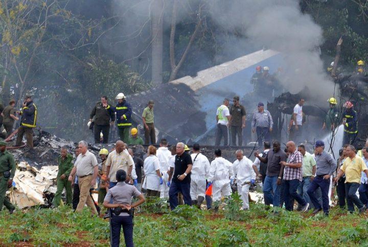 acidente aéreo CUBA médico cubano