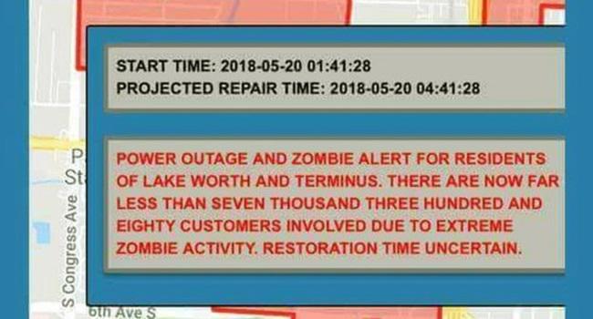 Cidade EUA pede desculpas após enviar alerta ameaça zumbi
