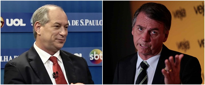 Ciro Gomes Jair Bolsonaro