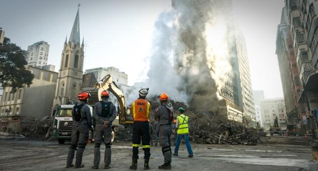 cobertura criminosa da mídia tragédia em São Paulo