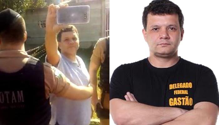 delegado Gastão Schefer Neto acampamento