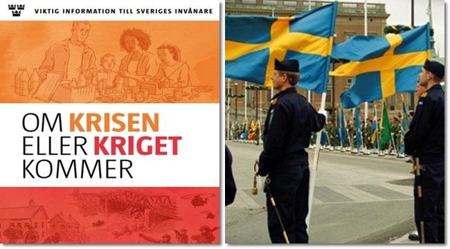 Governo sueco orienta população a se preparar para a guerra