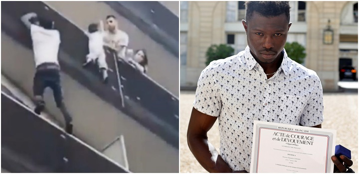 imigrante salva criança paris