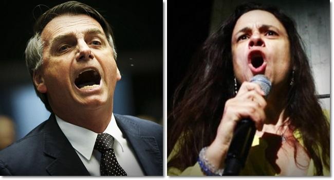 Janaina Paschoal pode ser vice de Jair Bolsonaro