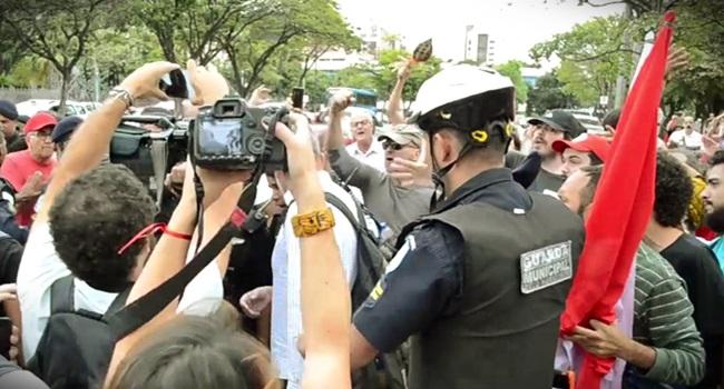 jornalismo ausente Globo manifestações mídia desonesta