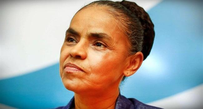 Marina Silva continua sem lado eleições 2018