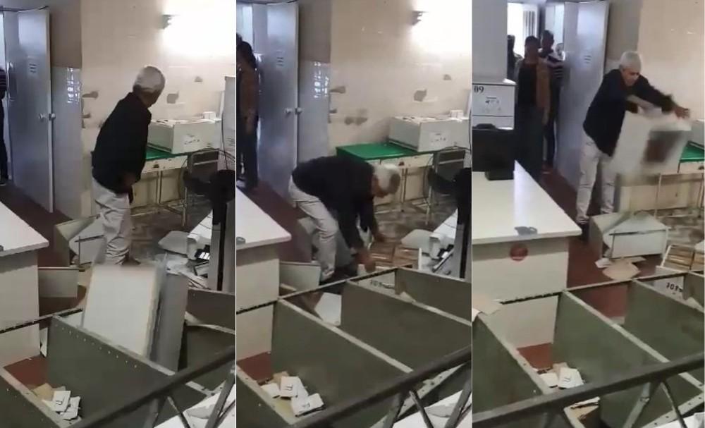 médico quebra tudo sala Cariacica (ES)