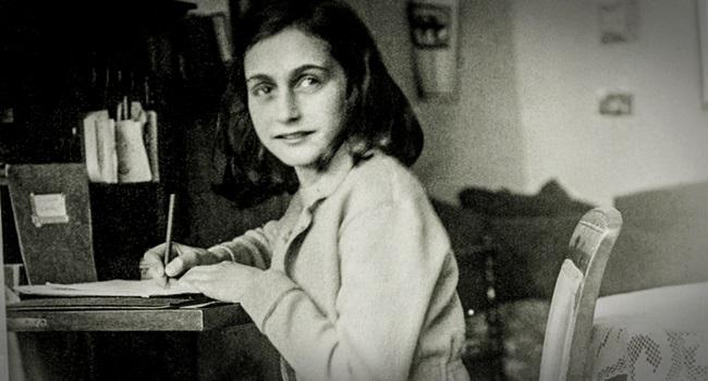 piadas comentários sexo páginas inéditas do diário de Anne Frank