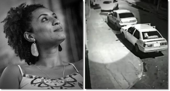 policiais estavam no carro usado para matar Marielle Franco