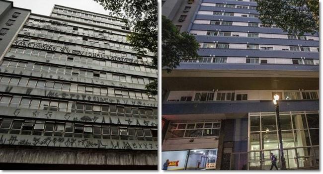 Prédio reformado por sem-teto vira exemplo em São Paulo