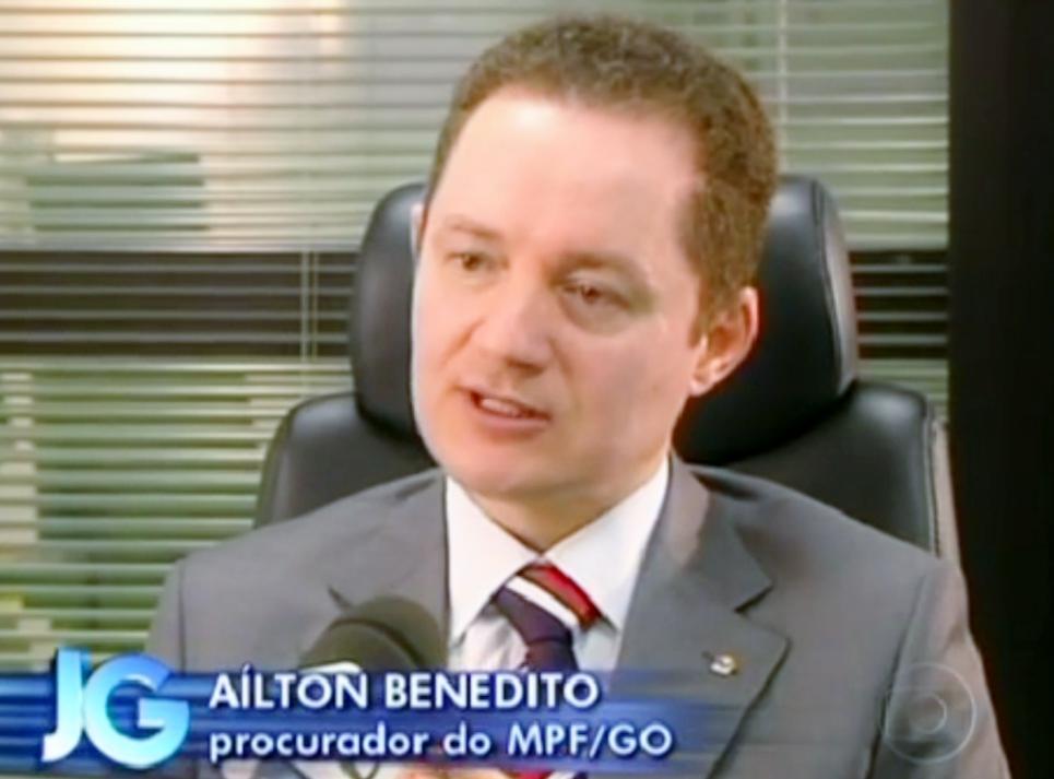 procurador Ailton Benedito fake news
