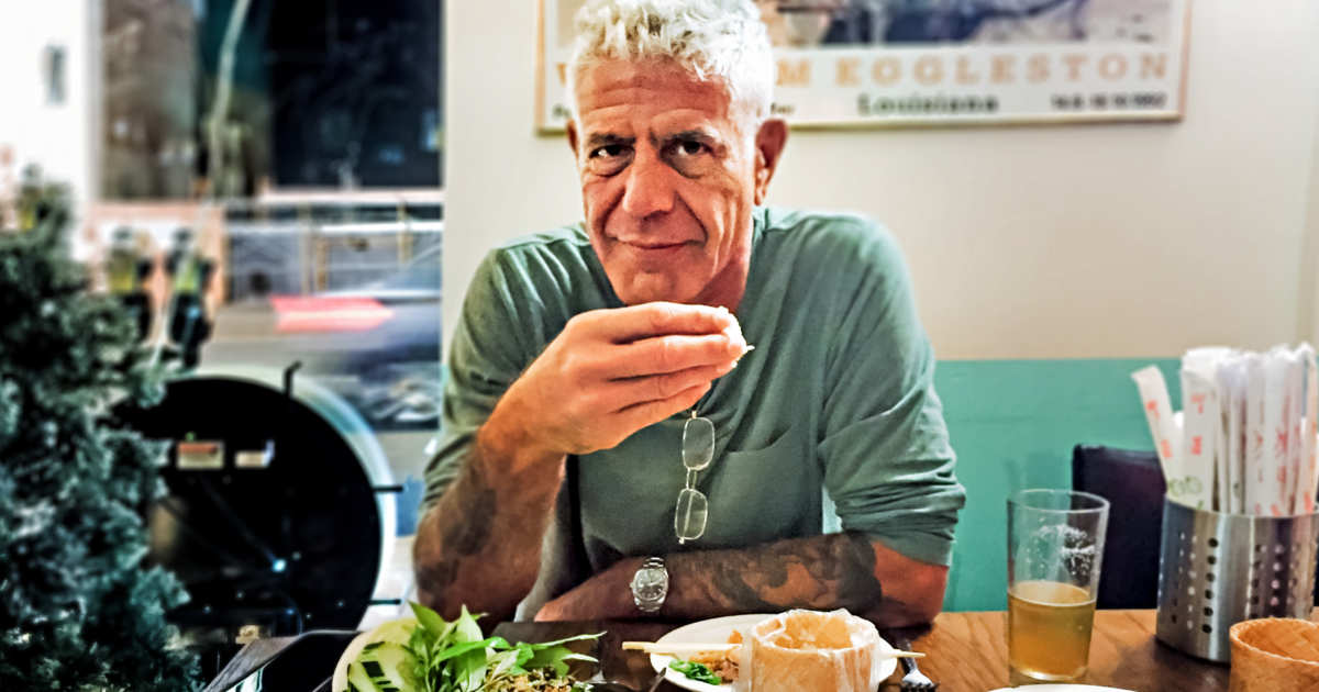 Anthony Bourdain entrevista morte