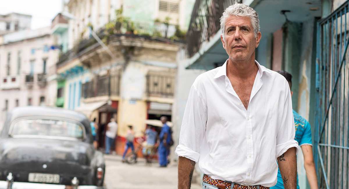 Anthony Bourdain suicídio