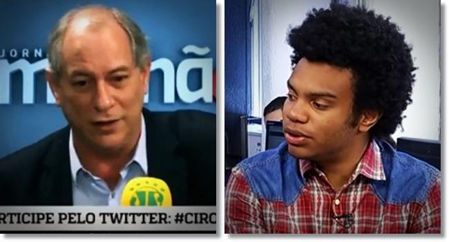 capitãozinho do mato Fernando Holiday processa Ciro Gomes racismo negros