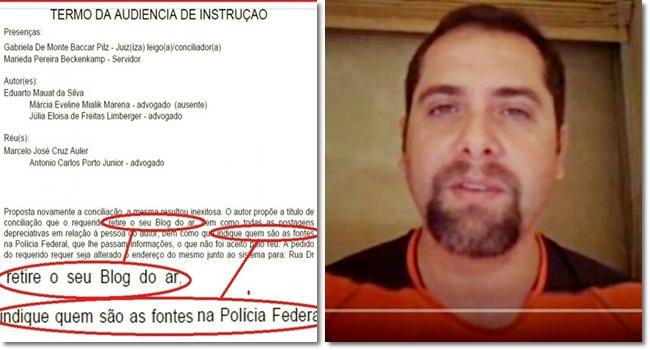 Delegado da Polícia Federal tenta fechar blog que critica a Lava Jato