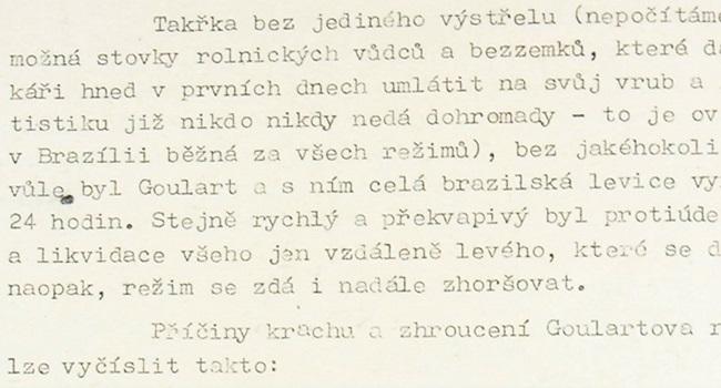 Documento secreto soviético diz que brasileiros são preguiçosos e levianos