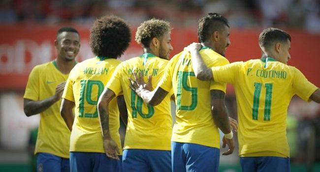 cbf esquerda deve torcer pelo Brasil na Copa do Mundo Rússia