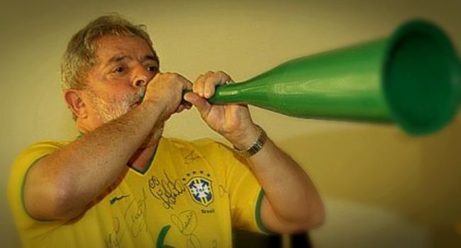 estreia de Lula como comentarista da Copa de 2018