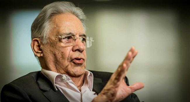 FHC faz apelo e pede união contra Bolsonaro Ciro Lula eleições 2018