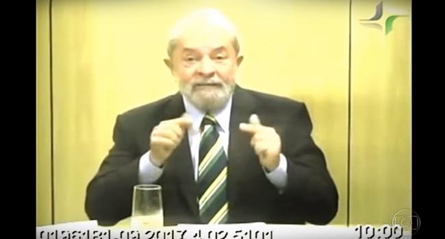 Jornal Nacional cassa a voz de Lula para manipular depoimento lava jato eleições 2018 voz de lula arma