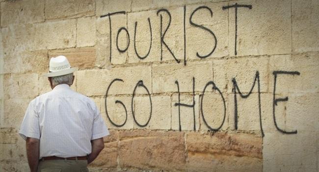 Jornal publica lista de nove destinos odeiam turistas