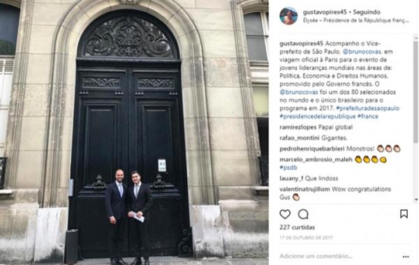 Mãe de amigo de Bruno Covas ganha cargo na prefeitura de SP