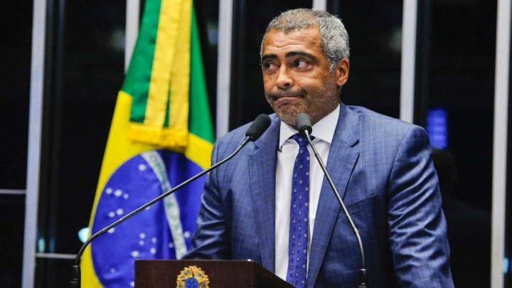 Romário senador lava dinheiro