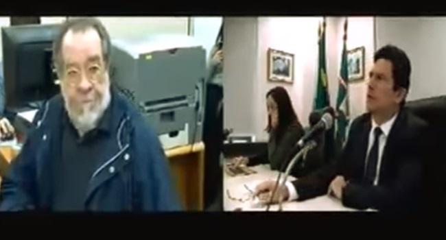 Sergio Moro bate boca com escritor durante audiência