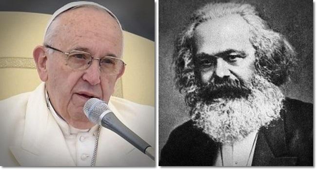 Texto do Papa Francisco traz semelhanças com formulações de Karl Marx