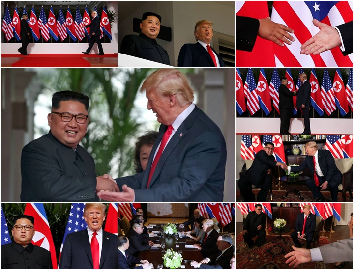 Donald Trump Kim Coreia do Norte