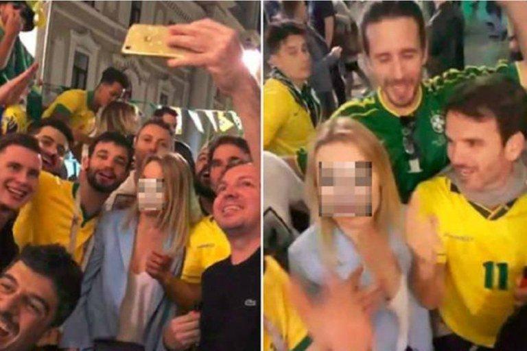 brasileiros vídeo machista rússia