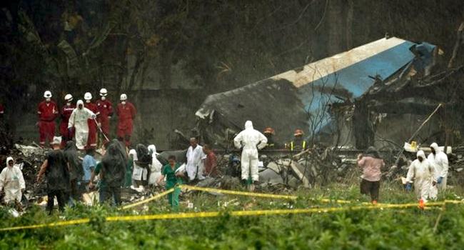 Acidente aéreo Cuba falha dos pilotos investigação