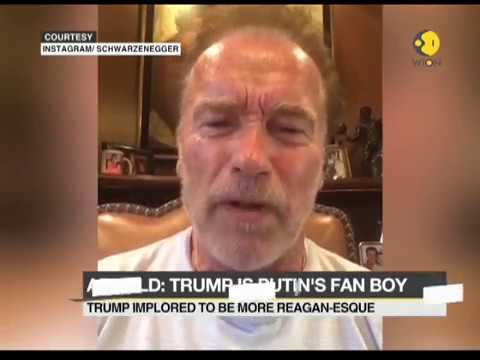 Arnold Schwarzenegger trump putin