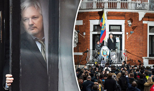 Julian Assange Wikileaks Equador