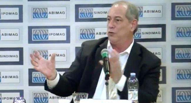 Ciro Gomes interromper entrega do petróleo brasileiro ao capital estrangeiro
