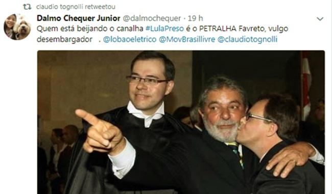 Rogério Favreto Desembargador que ordenou soltura de Lula não beijou rosto do ex-presidente