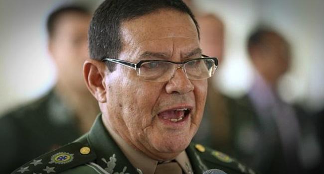 General Mourão será candidato a presidente da República direita forças armadas