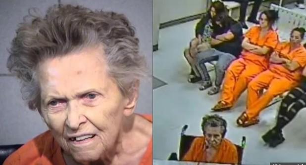 idosa mata filho Anna Mae Blessing