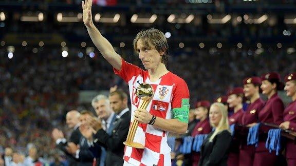 Luka Modric melhor jogador copa