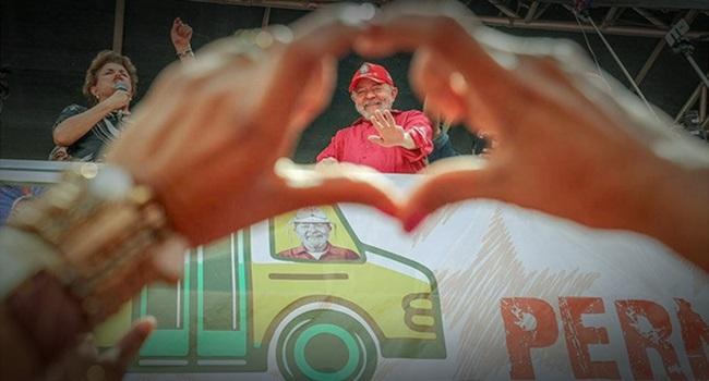 Lula vence em Pernambuco intenções de voto