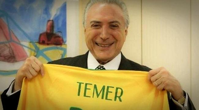 Michel Temer é criticado após pegar carona na Copa do Mundo
