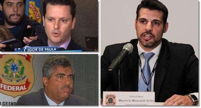 delegados lava jato paraná Igor Romário Maurício Grillo Rosalvo