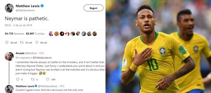 Neymar Patético ator