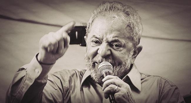 ex-presidente Lula sofrendo censura entrevista preso político