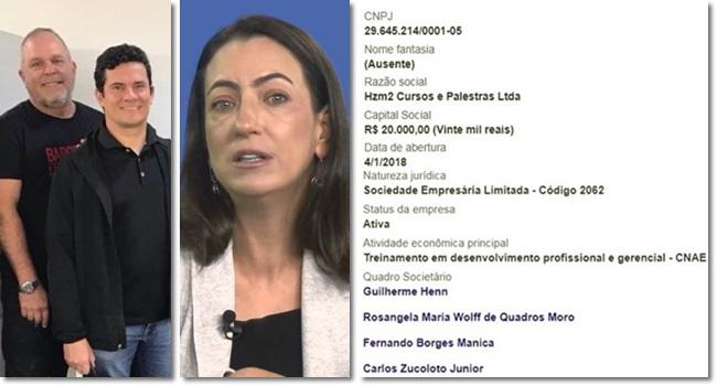 Rosângela Moro abre empresa com amigo acusado de cobrar propina Carlos Zucolotto Curitiba