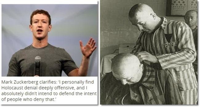 mito do Holocausto ressurge Mark Zuckerberg história judeus alemanha